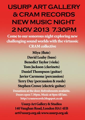 CRAM Records Night at Usurp