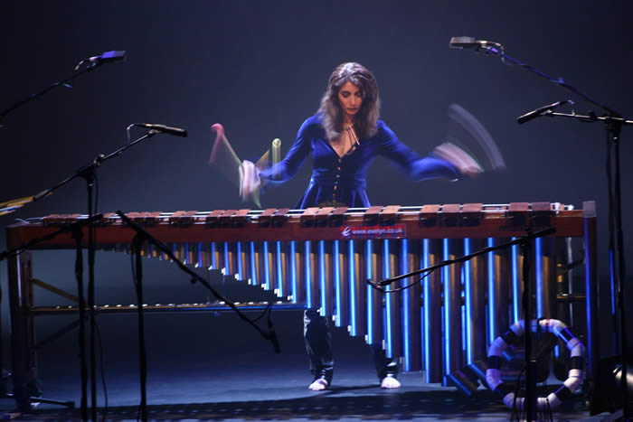 "Q&A with Dame Evelyn Glennie and screening of the film ""Touch the Sound"""
