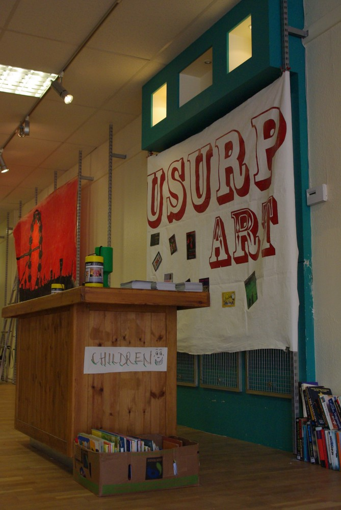 Usurp Open Space - regenerating an empty shop in Harrow town centre
