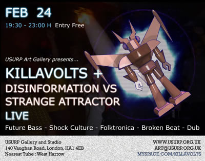 Killa Volts + Disinformation vrs Strange Attractor