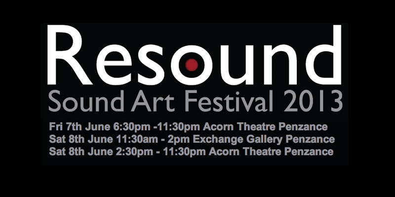 The Conspirators of Pleasure at The Resound Sound Art Festival 2013