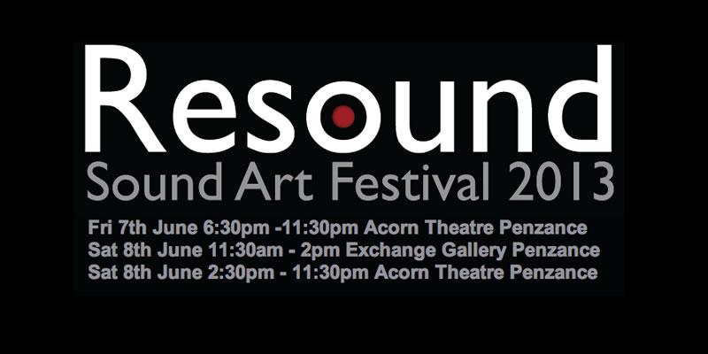 The Conspirators of Pleasure at The Resound Sound Art Festival 2013