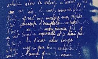 Photopoetics - Cyanotypes, Tea toning and Poetry Part 1